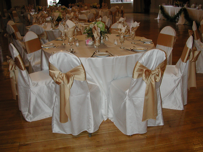 Ivory Lamour Chair Cover Cloth Connection
