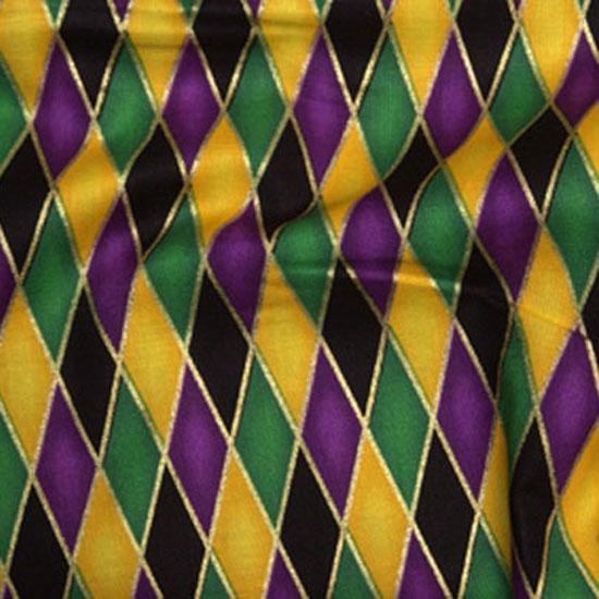 Mardi Gras Diamonds Cloth Connection