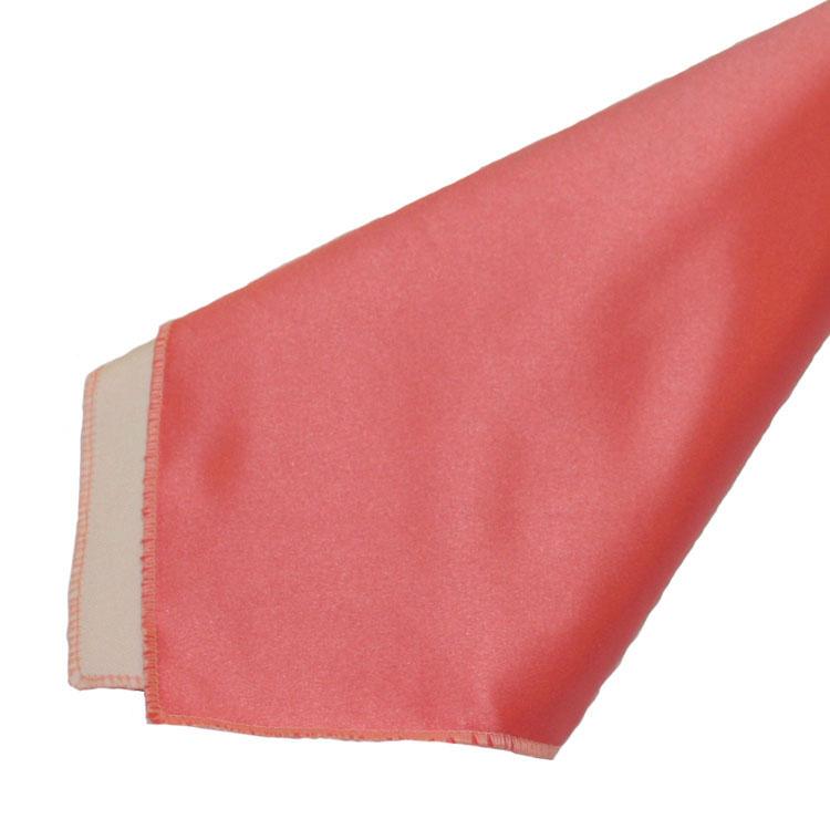 Coral paper napkins