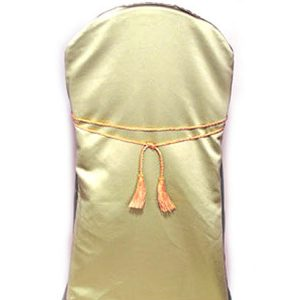 Gold Chair Tie with Two Tassels