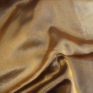 Antique Gold Iridescent Satin