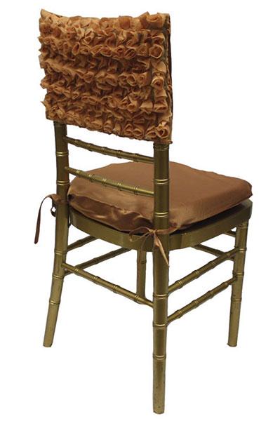 Bronze Rosette Chair Cap