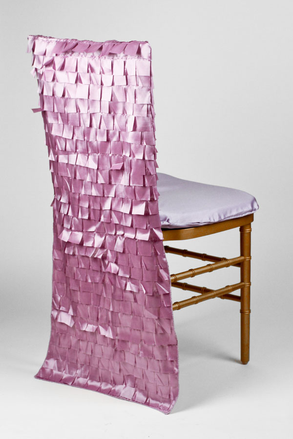 Lilac Box Taffeta Chair Back