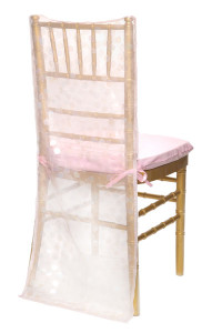Pink Paylette Chair Back