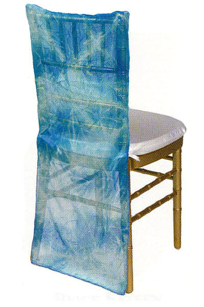 Oceana Tie Dye Sheer Chair Back