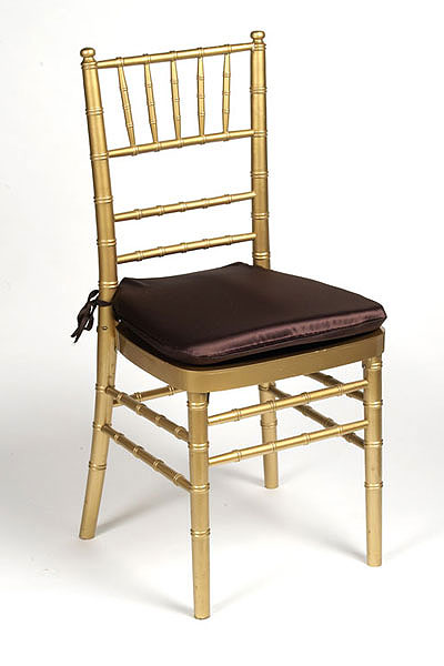 Chocolate Lamour Chair Pad Cover