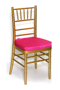 Fuchsia Lamour Chair Pad Cover