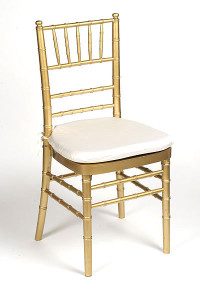 Ivory Lamour Chair Pad Cover