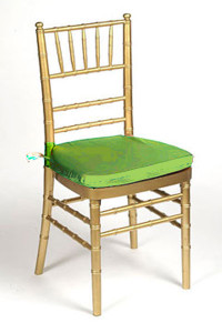 Lime Lamour Chair Pad Cover