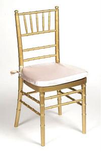 Peach Lamour Chair Pad Cover