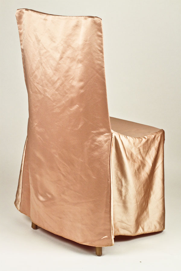 Gold Square Chair Cover