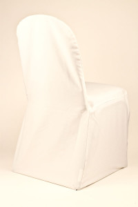 Beige Polyester Chair Cover