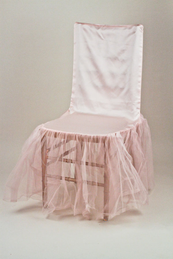 Pink Ballerina Chair Cover