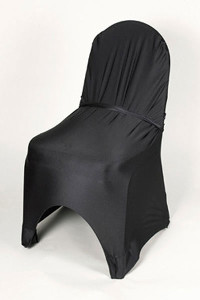 Black Stretch Chair Cover