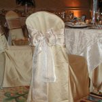 Champagne Lamour Chair Pad Cover