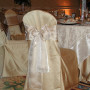 Champagne Lamour Chair Cover