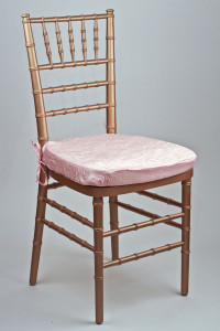 Bubblegum Crushed Shimmer Chair Pad Cover