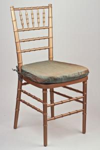 Lagoon Crinkle Taffeta Chair Pad Cover