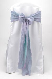 Aqua Pink Crushed Shimmer Tie