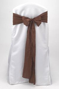 Chocolate Crushed Shimmer Tie