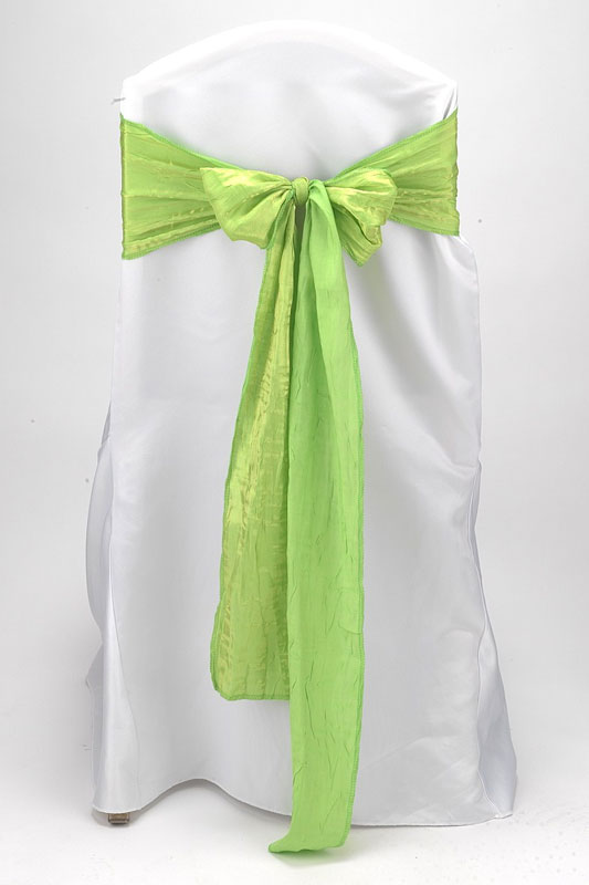 Lime Crushed Shimmer Tie