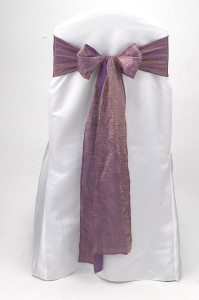 Orchid Crushed Shimmer Tie