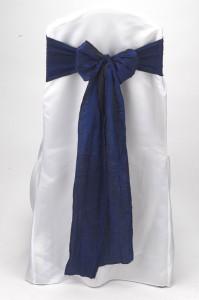 Royal Crushed Shimmer Tie