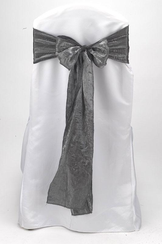 Slate Crushed Shimmer Tie