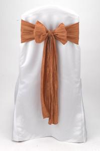 Ginger Crinkle Taffeta Tie