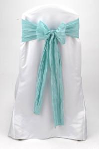 Seabreeze Crinkle Taffeta Tie