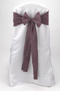Victorian Lilac Crinkle Taffeta Tie