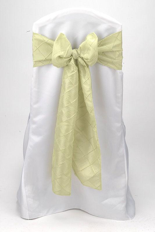 Apple Green Pintuck Tie