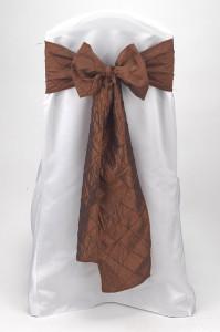 Spice Pintuck Tie