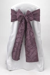 Victorian Lilac Pintuck Tie