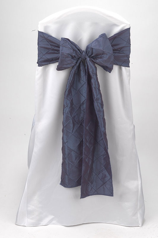 Violet Pintuck Tie