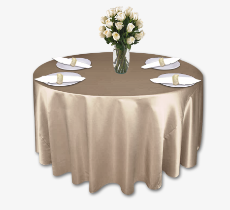 Champagne Lamour Table Linen