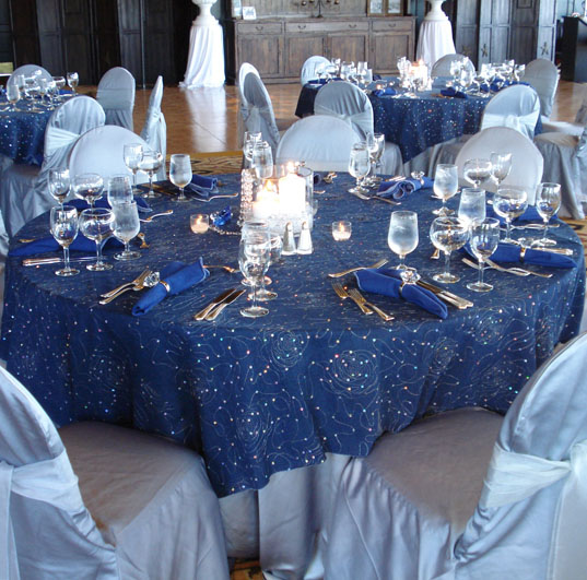 Denim amp Diamonds Table LInen Tablecloth
