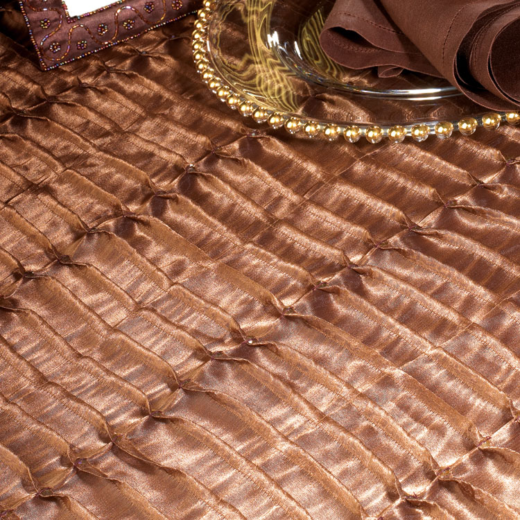 Chocolate Sequin Ruffle