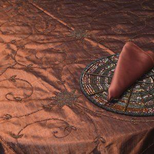 Copper Pearl Silk