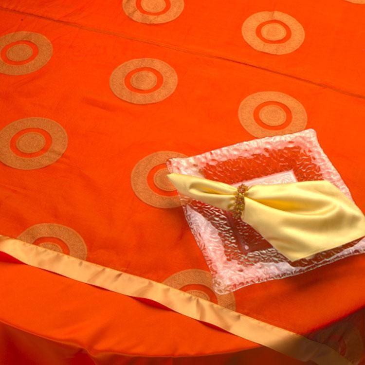 Mandarine Circle Silk