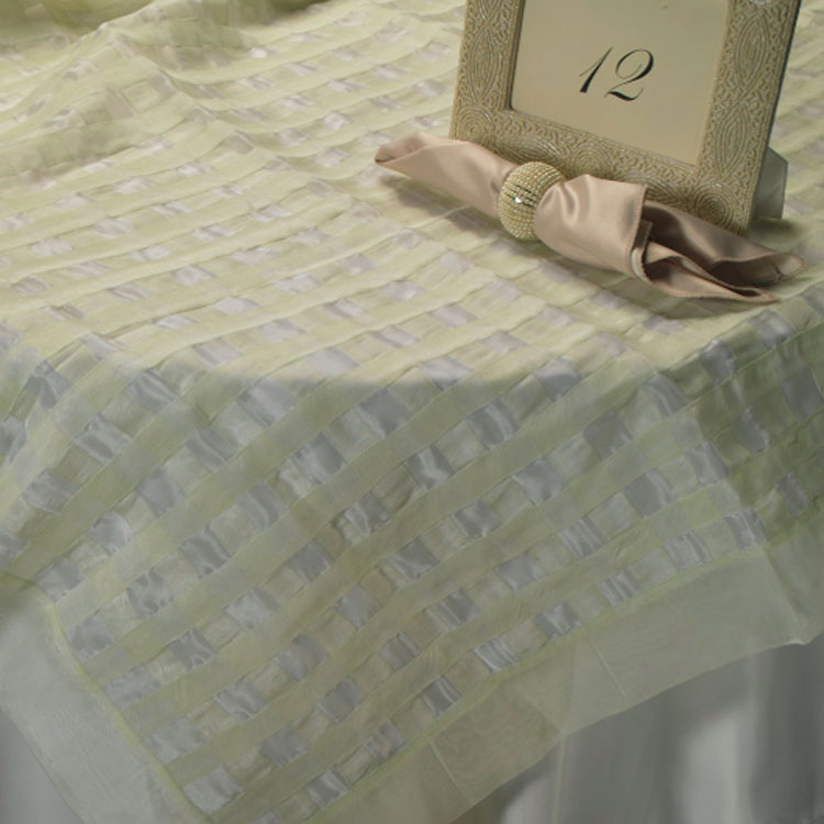 Mint Ribbon Silk