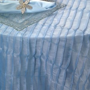 Powder Blue Sequin Ruffle