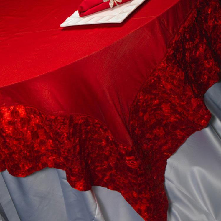 Red Ribbon Silk