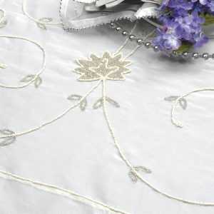 Silver China Pearl Silk