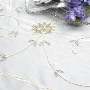 Silver China Pearl Silk