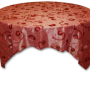Blush Floral Tinsel overlay