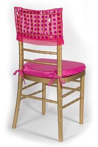 Fuchsia Paylette Chair Cap