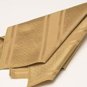 Gold Stripe Damask Napkin2