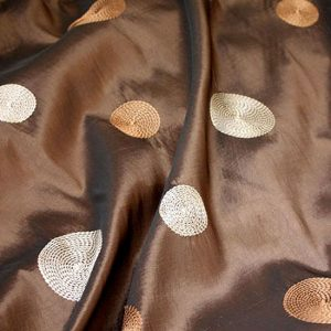 Chocolate Cirque Taffeta