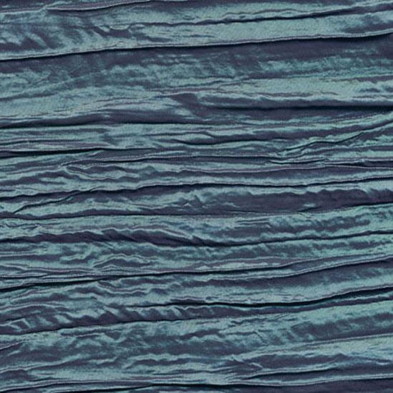 Aqua Violet Crinkle Taffeta